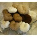 AlpagAdore Artisanal Yarn - 100% natural Quebec alpaca fibre