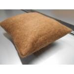 ** NOUVEAU ** Housse de coussin décoratif / fibre d'alpaga naturelle, écologique et hypoallergénique