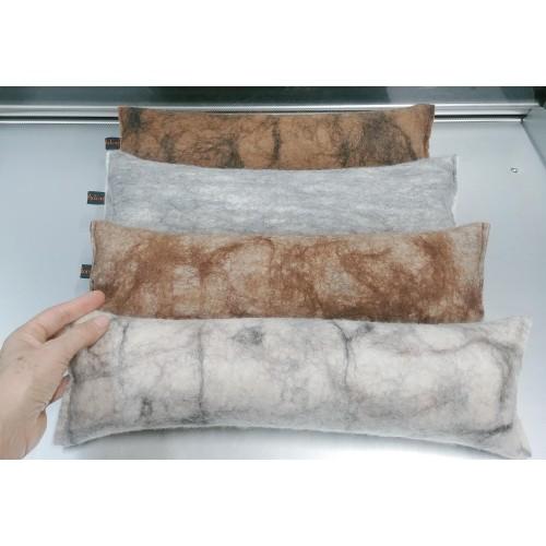 ** NOUVEAU ** Coussin de cou / nuque / appui-tête : confort 100% fibre d'alpaga écologique et hypoallergénique
