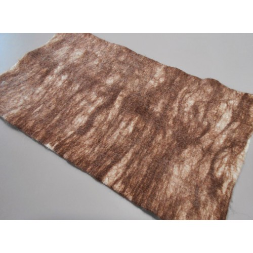 "Alpaca carpet : tabby design : ecological natural hypoallergenic: 54 x 90 cm (21x36"")"