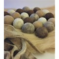 Dryer Balls: Ecological and Hypoallergenic Natural Fabric Softener
