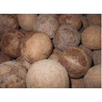 Balles de séchage : Assouplissant naturel écologique et hypoallergénique