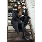 Manteau ROYAL: Manteau d'hiver long isolé en alpaga : manteau pour femmes