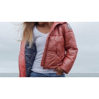 SOLSTICE jacket : Alpaca insulated puffer jacket : womens winter coat