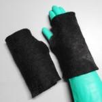 Gants sans doigts - alpaga superfin - feutrés