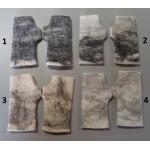 Gantaines / Mitaines-Gants sans doigts - alpaga superfin - feutrés