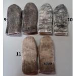Mitaines feutrées 100% alpaga naturel : mitaines pour femmes ou hommes