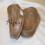 Felted Alpaca Slippers - closed end