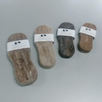 Felted alpaca insoles : toddler (babies / small children)