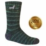 Extreme Socks, Hand Painted, 80% baby alpaca