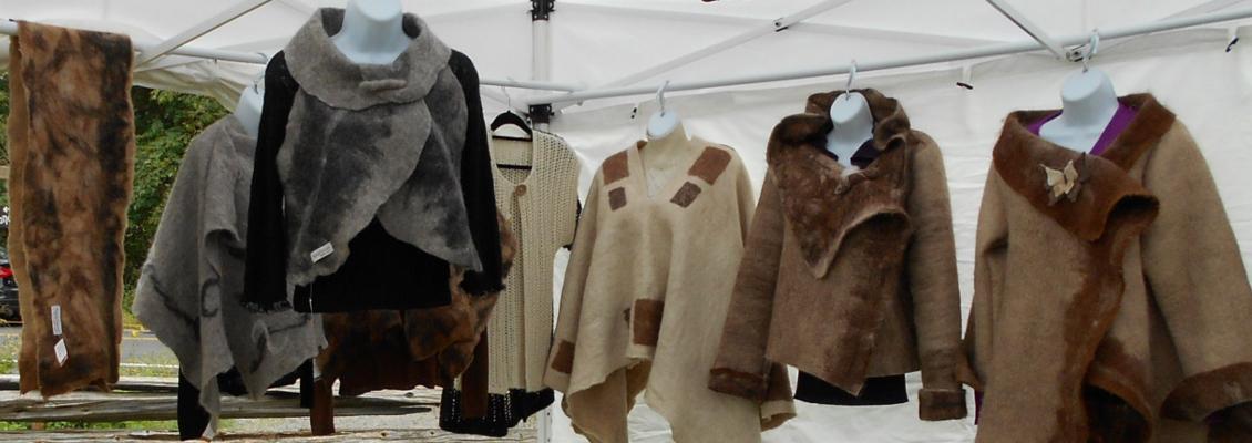 Manteaux et vestons en alpaga